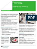 Extrusion and Compounding Research