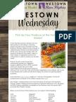 westown wednesday - august 22