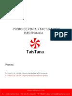 Presentacion de Punto de Venta y Facturacion Electronica Online