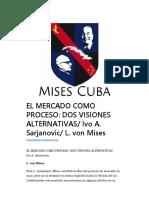 El Mercado Como Proceso_Dos Visiones Alternativas - Ivo a. Sarajanovic