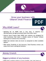 Small and Medium Enterprises Loans