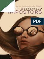 Impostors by Scott Westerfeld Extract