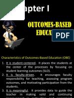 Lesson 1 - Outcomes-based Education