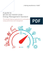 A Guide to ISO 50001 2018 Energy Management Systems