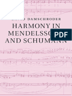 Harmony in Mendelssohn and Schumann