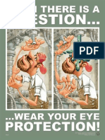 Wear Your Eye Protection