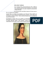 Manuela de La Santa Cruz y Espejo