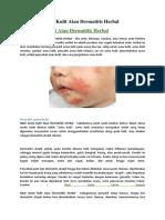 Jual Obat Asma Kulit Atau Dermatitis Herbal