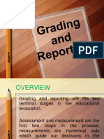 Lesson 8 - Grading and Reporting