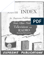 Radio Diagrams Index