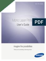 Samsung ML-167x User Manual English