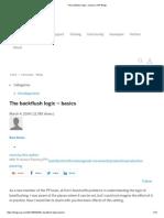 The backflush logic – basics SAP
