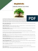 Bargad ke ped ke fayde (Benefits of Banyan Tree in Hindi). _ Hinglishpedia.pdf