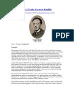Teori Kuantum Louis de Broglie