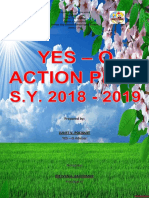 Yes - o Action Plan