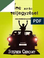 Stephen Chbosky EGY KÜLÖNC SRÁC FELJEGYZÉSEI.pdf