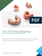 3D Printing Advantages
