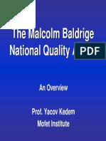 Malcom Baldgidge Award