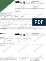 Certificado Tubo XXS