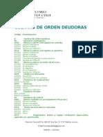 8 CUENTAS DE ORDEN DEUDORAS
