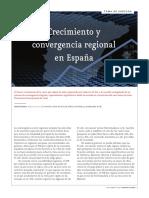 Crecimiento y Convergencia Regional en España