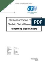 Sop Crfl102 Performing Blood Smears