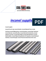 Inconel Suppliers
