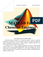 MATLAB for  CHEMICAL ENGINEERS.pdf