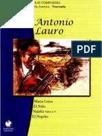 Antonio Lauro Obra completa Vol 3
