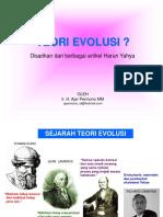 III. Evolusi Asal Usul Manusia 2011