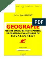Geografie teste