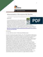Vermigli, Raschielli, Rossi, & Roazzi - Attaccamento e Percezione Del Rischio. Scienza Online