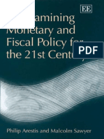 Philip Arestis and Malcolm Sawyer - Re-examining Monetary and Fiscal Policy for the 21st Century (livro).pdf