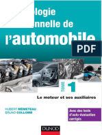 Technologie Fonctionnelle de l'Automobile - Tome 1