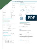 Formulas Matematica CBC