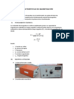 Características de Magnetización 1
