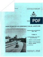 Tomo II Carreteras, Calles, Autopistas
