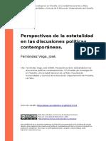 Fernández Vega - Discusiones políticas