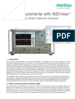IMD Measurements Using IMDView An