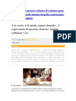 3 Expressions Françaises Dont Les Anglais Raffolent