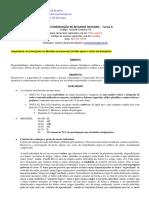 Conservacao de Recursos Naturais-programa de Curso 2018-2