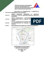 Informe Barranco