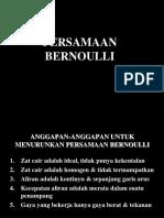 5.Persamaan Bernoulli