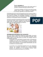 La Nutrición y El Desarrollo Seño Lety