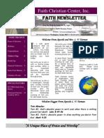 October 3 Newsletter