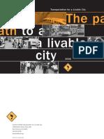 Path to a Livable City
