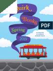 Quirk Books Spring '19 Catalog