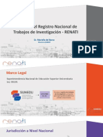Presentacion RENATI Mariella Del Barcorev