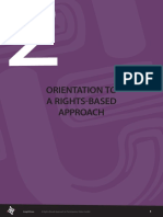 Orientation to a Rights Based Approach