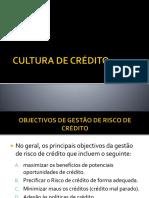 Cultura de Crédito
